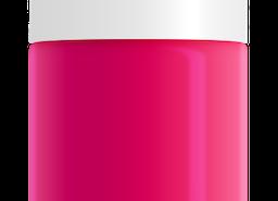 Hot Pink Nail Polish, non-toxic, water based by SeaMilk