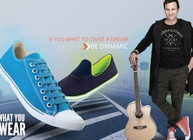 Fresh styles in casual footwear for Mens
