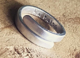 Custom Skinny Wrap Ring