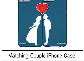Romantic iPhone case for Couples