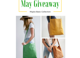 ****MAY GIVEAWAY*** >>Win a Mayko leather bag for you AND a friend!<<