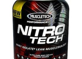Muscletech Nitro Tech Performance Series -Vanilla-4 lb