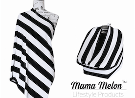 Nursing cover & breastfeeding scarf by Mama Melon™