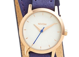 'The Kenzi' Wrap Leather Strap Watch