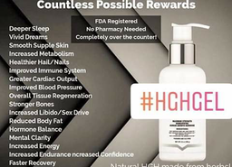 Hgh Gel Homeopathic transdermal