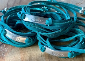 custom wrap bracelets