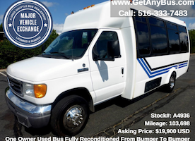 Why charter companies should buy used buses for sale
