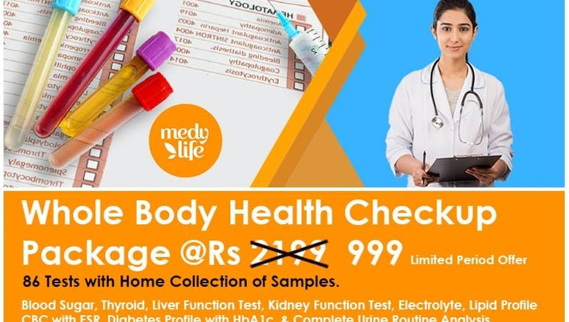 Whole  Body Health Check Up Packages in Delhi NCR