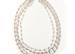 Flowing Hearts Necklace