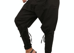 Men Harem Pants - Black harem pants