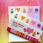 sweet heart cupcake sticky memo, colorful heart paper note little cake sticky note memo paper, princess party cake paper decor gift
