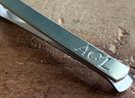 Personalized Tie Clips