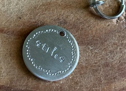 Small pet ID tag