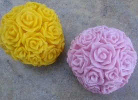 Large Scented Rose Cluster Wax Melts