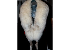 Soft ,fun, warm Fox fur scarf