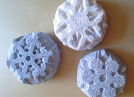 Snowflake Bath Bomb Set
