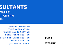 Software Testing and QA Consultancy in London