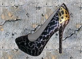 Triquetra Heels