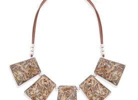 Brown Fashion Long Chain