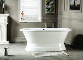 Affordable Luxury - At the end of your day, unwind in a peaceful soaking bath!