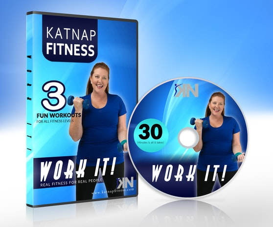 WORK IT! WORKOUT DVD IS ALL YOU NEED TO GET IN SHAPE