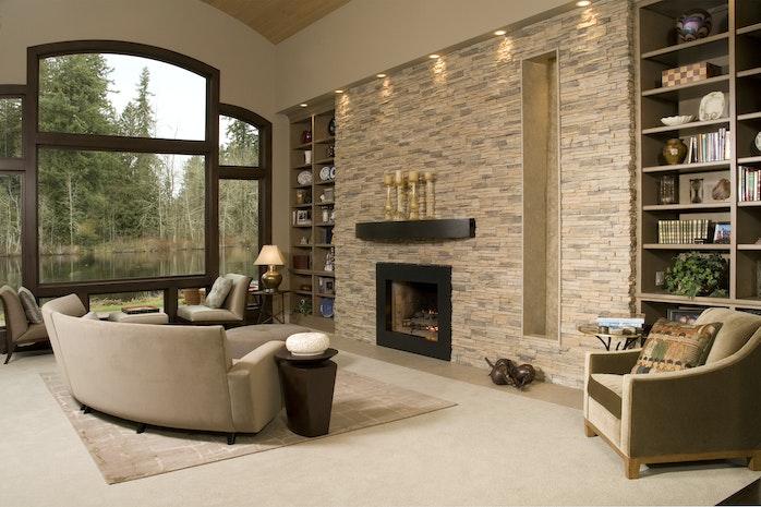 Interior Stone Veneer >> Interior Stone Veneer For Fireplaces Mogul