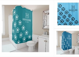 Family Name Shower Curtains