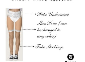 Naughty Nurse Leggings