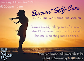 Burnout Self-Care - An Online Workshop for Exhausted Women