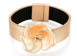 Flower Petal Bracelet - Rose Gold