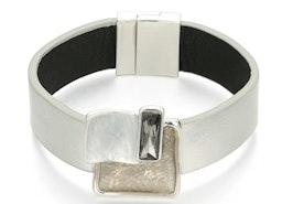 Squares Bracelet - Silver