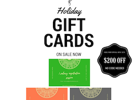 Happy Holidays! Early Bird Special on Career Coaching Gift Cards - Save $200 Now Until 12/15
