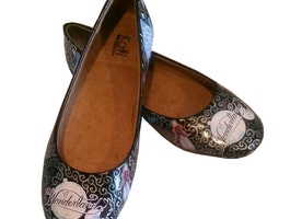 Alice In Wonderland Inspired Flats