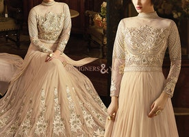 Latest Styles Designer Anarkali Dress Online Shopping With Less Price By Designersandyou
