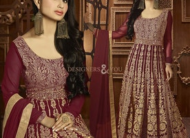 Different Styles Best Anarkali Dress Designed With Heavy Embroidery By Designersandyou