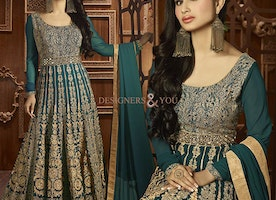 Smart Looking Beautiful Anarkali Dresses Online Shopping With Price By Designersandyou