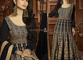 Beautiful Design With Heavy Patterns Anarkali Online India For Teen By Designersandyou