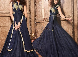Indian Evening Gown Online For Sale To Get Smart Look By Designersandyou
