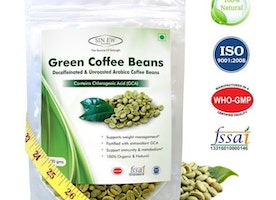 Sinew Green Coffee Beans Decaffeinated & Unroasted Arabica
