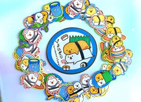 71 sushi sticker sushi chef sushi master cute food sticker kawaii creature food monster yummy food sticker food label food planner cute gift