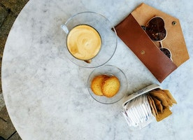 Latte ✔️ Sweet Biscuits✔️ Amaze Sunglass Case by Mayko✔️ Best Morning Ever ✔️ What does your best morning look like?