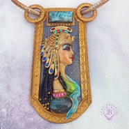 Ancient Egyptian necklace Claeopatra