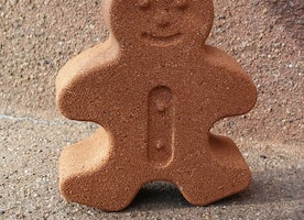 Mr. Gingerbread Bath Bomb
