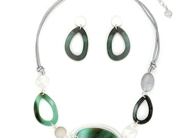 Necklace Set - Green