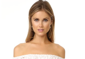 Lovely Dresses, Tops  and Earrings from Shopbop
