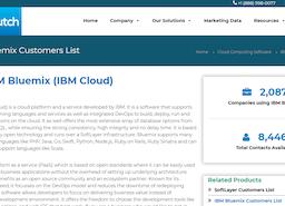 Companies using IBM Cloud