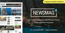 Newsmag v4.8 – News Magazine Newspaper