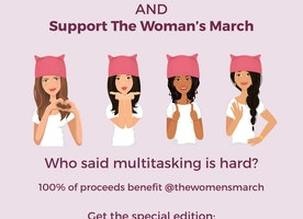 I made chic iMessage stickers supporting the Women's March - how do I spread the word?