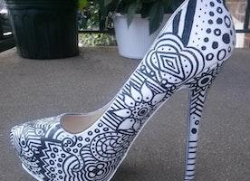 Coloring Book Heels