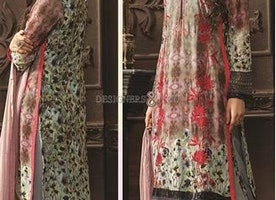 Chic Multicolor Digital Print Georgette Pak Fashion Salwar Kameez By Designersandyou